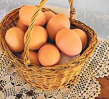 Eggs in a Basket by BettyEDuncan