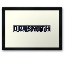 Dr. Smith Doctor Who Framed Print