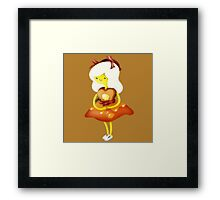 Adventure Time Breakfast Princess Framed Print