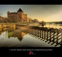 The Sun-rays in Prague by capturedjourney