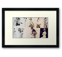 Willow Tree collage Framed Print