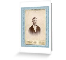 CHESTERFIELD HARRELL Greeting Card