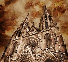 Paris - Sainte Clotilde Basilica by jean-louis bouzou