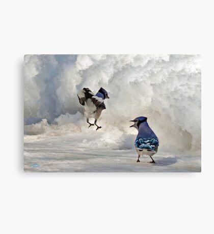 When I Say Jump!!! Canvas Print
