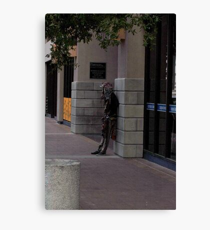 Street person Known as Chicago Canvas Print