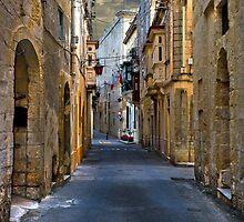 Rabat, Malta Street Scape by Edwin  Catania