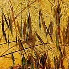 Grasses On Yellow....................Most Products by Fara
