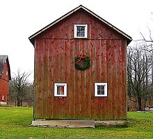 Christmas Barn by Jessica Snyder