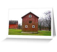 Christmas Barn Greeting Card