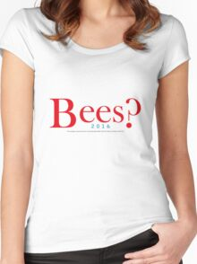 Bees? Presidential Campaign Women's Fitted Scoop T-Shirt