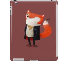 Smart Fox iPad Case/Skin