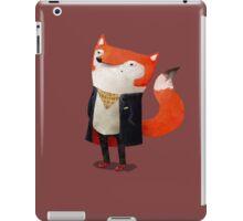 Smart Fox iPad Case/Skin