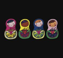 Love Russian Dolls - All Kids Clothes