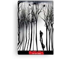 Nightmare in the Forest Canvas Print