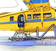 Float Plane Sticker