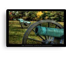 The Stone Wall - Gettysburg PA Canvas Print