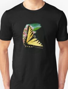 Swallowtail Butterfly and Milkweed Flowers Unisex T-Shirt