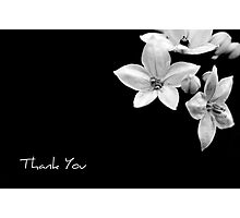thank you note Photographic Print