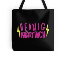 Hedwig and the Angry Inch (Pink Logo/Lightning Bolts) Tote Bag