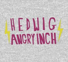Hedwig and the Angry Inch (Pink Logo/Lightning Bolts) One Piece - Long Sleeve