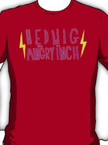Hedwig and the Angry Inch (Pink Logo/Lightning Bolts) T-Shirt