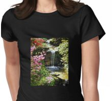 A Splash Of Colour and Water Womens Fitted T-Shirt