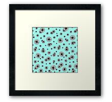 Icy Anemones Framed Print