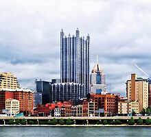 Pittsburgh PA Skyline by Susan Savad
