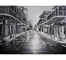 Bourbon Street, New Orleans, La.  Photographic Print