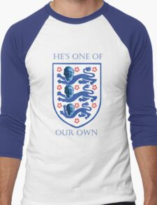 St Harry of England - He's one of our own Men's Baseball ¾ T-Shirt