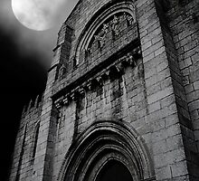 monastery by moonlight by Ingz