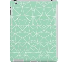 Abstract Mirror Mint iPad Case/Skin