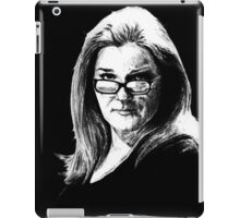 Kate Mulgrew  iPad Case/Skin