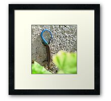 Do you like my tail? Framed Print