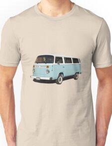 vintage blue van Unisex T-Shirt