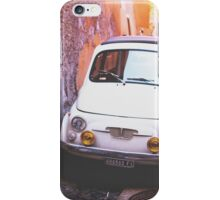 Oldschool Fiat 500 iPhone Case/Skin