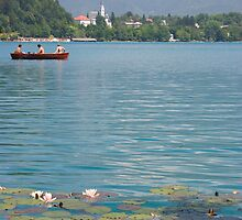Lake Bled, Slovenia by Ian Middleton
