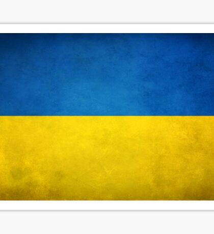 Ukrainian Flag Sticker