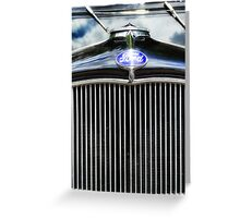 Ford Model A Madness 4 Greeting Card
