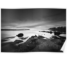 Sunset Over Nanoose Bay # 2 Poster