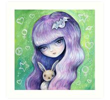 My Eevee Art Print
