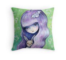 My Eevee Throw Pillow