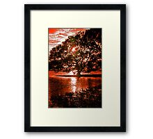Earth, Sky and Water Framed Print