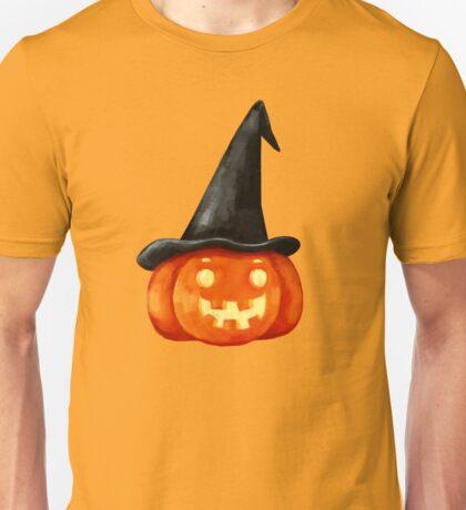 Halloween  Witch Pumpkin Head Unisex T-Shirt