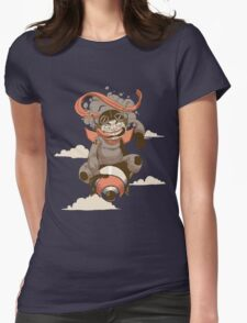 Crotch Rocket Womens Fitted T-Shirt
