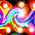 Glowing Spirils by MaeBelle
