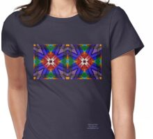 Double Window Womens Fitted T-Shirt