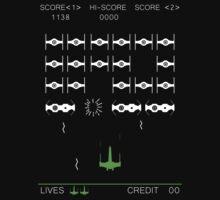 Star Wars Space Invaders! Retro Star Wars Shirt by HelloGreedo