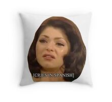 [Cries in Spanish] 2 Throw Pillow