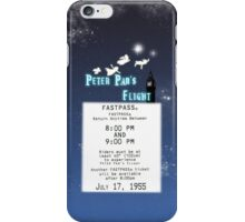 Peter Pan's Flight- Fastpass iPhone Case/Skin